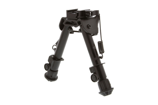 The Leapers UTG Bipod Tactical Op QD can be mpounted to your ar15 picatinny rail in seconds and is spring activated
