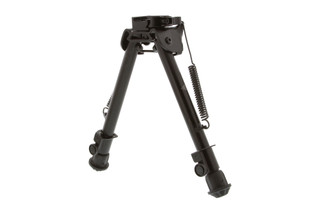 The Leapers UTG Tactical OP quick detach bipod adjusts from 8.3 to 12.7 inches in length
