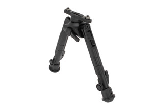 Leapers UTG Recon 360 TL M-LOK bipod is height adjustable from 7 to 9 inches