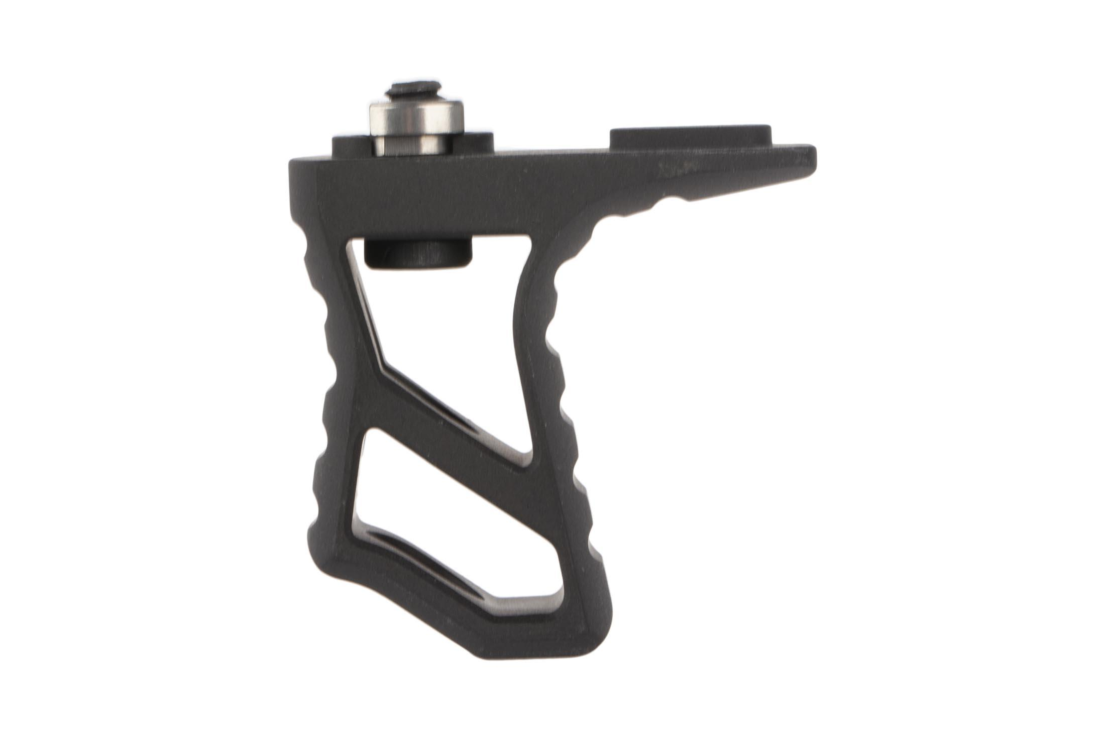 The Leapers UTG M-LOK hand stop is low profile and machined from high quality aluminum