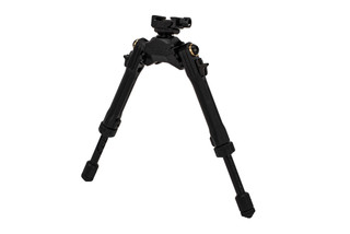 Leapers UTG Pro TBNR Bipod features a picatinny mount