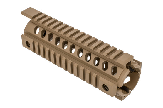 Mission First Tactical SDE TEKKO carbine length AR-15 integrated rail system is a drop-in handguard for your rifle.