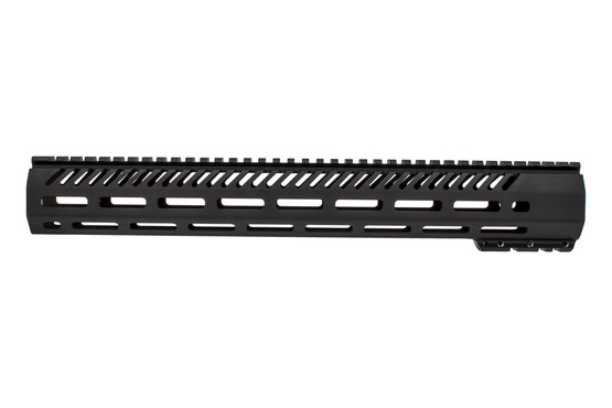 Mission First Tactical Free Float handguard 15 inch features weight reducing cuts
