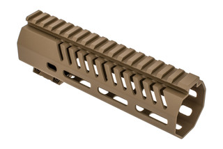 Mission First Tactical TEKKO AR15 handguard 7 inch features a scorched dark earth anodized finish