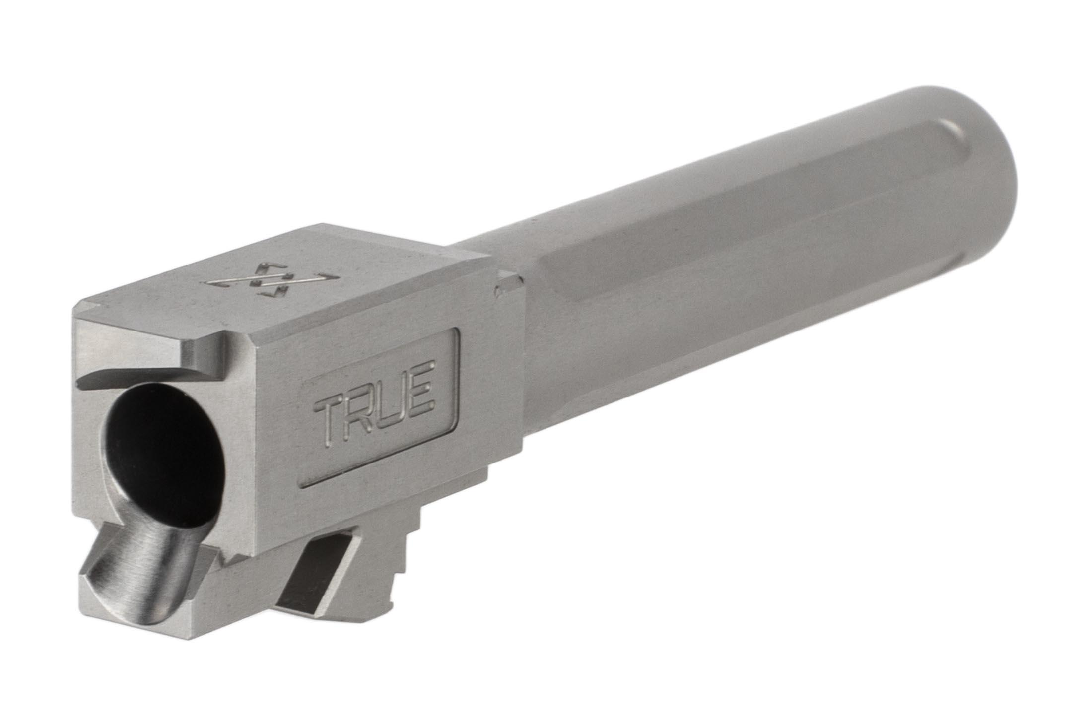 TRUE Precision Glock 19 Compatible 9mm Non-Threaded Barrel - Stainless