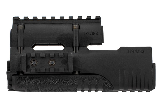 Mission First Tactical AK47 polymer handguard features four picatinny rails