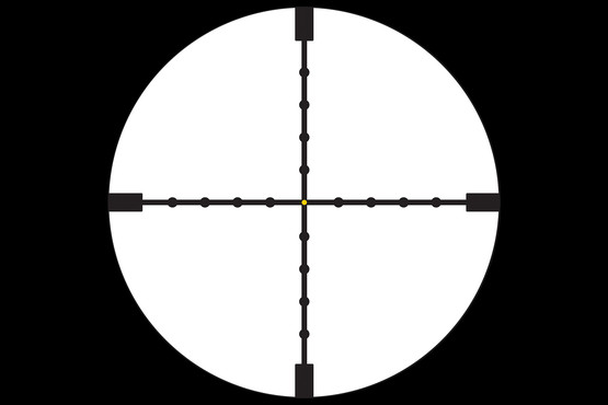 AccuPoint 3-9x Trijicon Scope features ultra clear glass