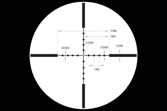 Trijicon AccuPoint 3-9x40 scope features MRAD adjustments