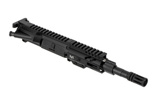 The Tiger Rock complete AR15 upper receiver group features a 7.5 inch barrel chambered in 5.56