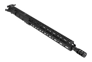 Tiger Rock 300 BLK complete AR-15 upper receiver features a 16in barrel, effective muzzle brake, and a 15in free float M-LOK handguard