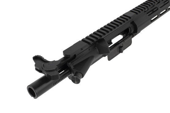Tiger Rock compete AR-15 upper with 16in 300 BLK barrel features an M16 bolt carrier group and an extended enhanced charging handle