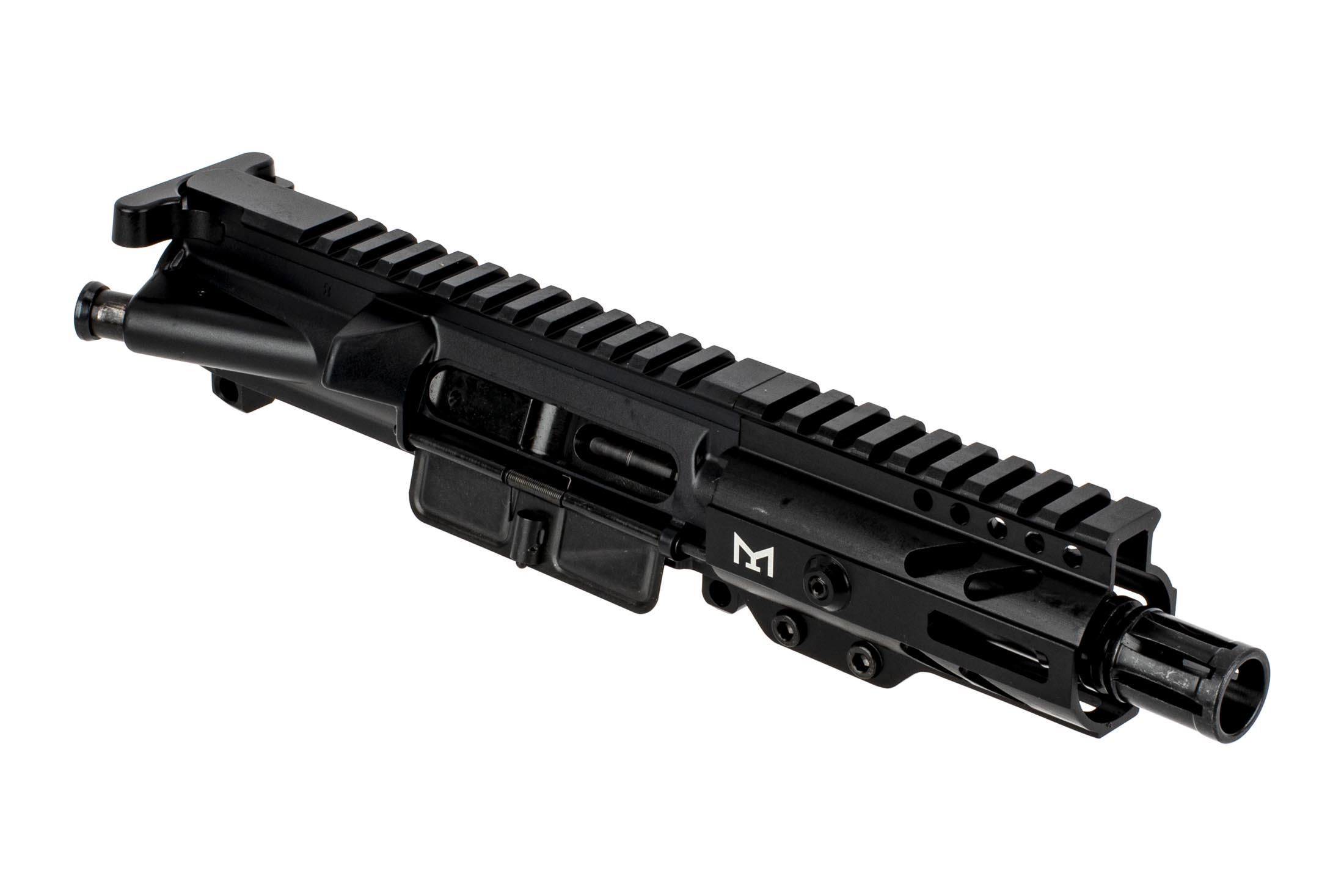 Tiger Rock 9mm AR-9 Pistol Length Complete Upper with Super Slim M-LOK Handguard - 4.5