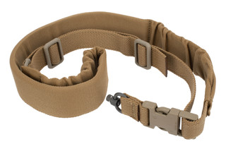 "Blue Force Gear one point sling has premium push button swivel adapters with 2"" inline padding."