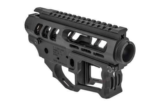 F1 Firearms UDR15 3G Style 2 skeletonized receiver set is machined from 7075-T6 billet aluminum