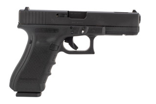 Glock 17C 9mm pistol features a ported barrel
