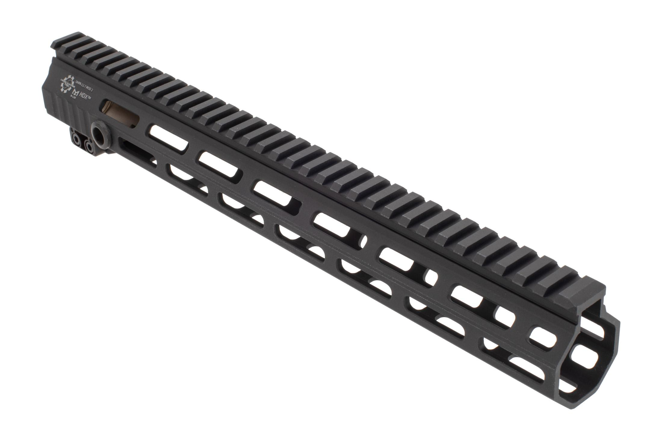 The Cross Machine Tool UHPR Mod 2 HDX M-LOK handguard 13.7 is machined from 7075-T6 aluminum