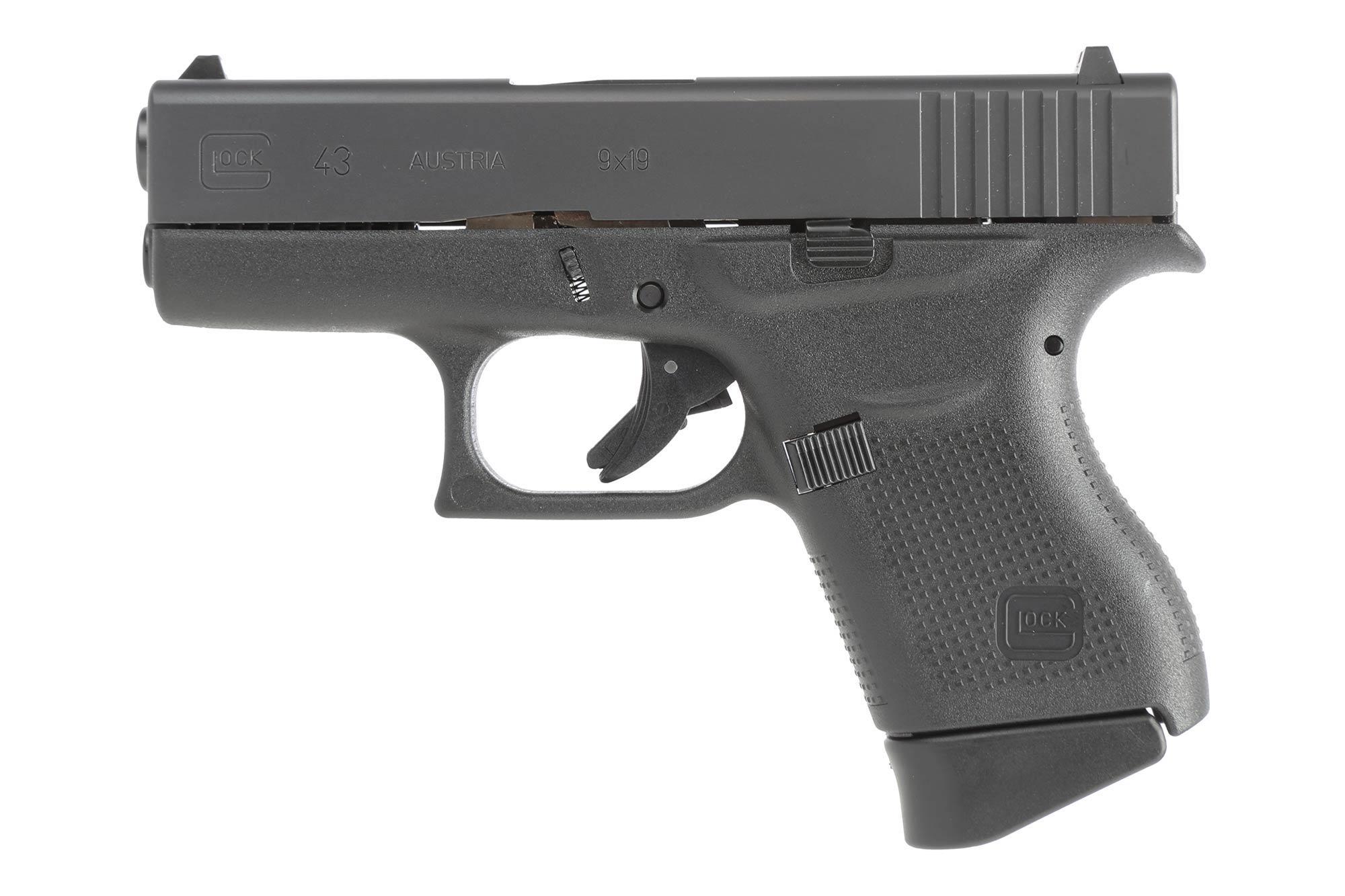 Glock G43 9mm Subcompact Pistol - 6-Round UI4350201  Glock G43 9mm S...