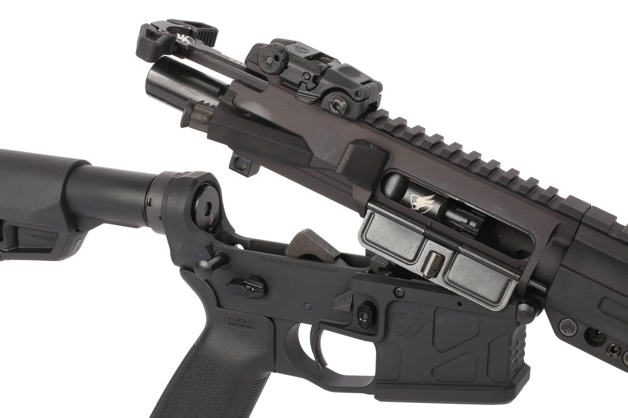 American Defense 16in UIC Mod 1 LE AR-15 Rifle features the Radian Raptor Charging Handle