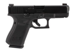Glock 19M 9mm Pistol has a durable nDLC finish