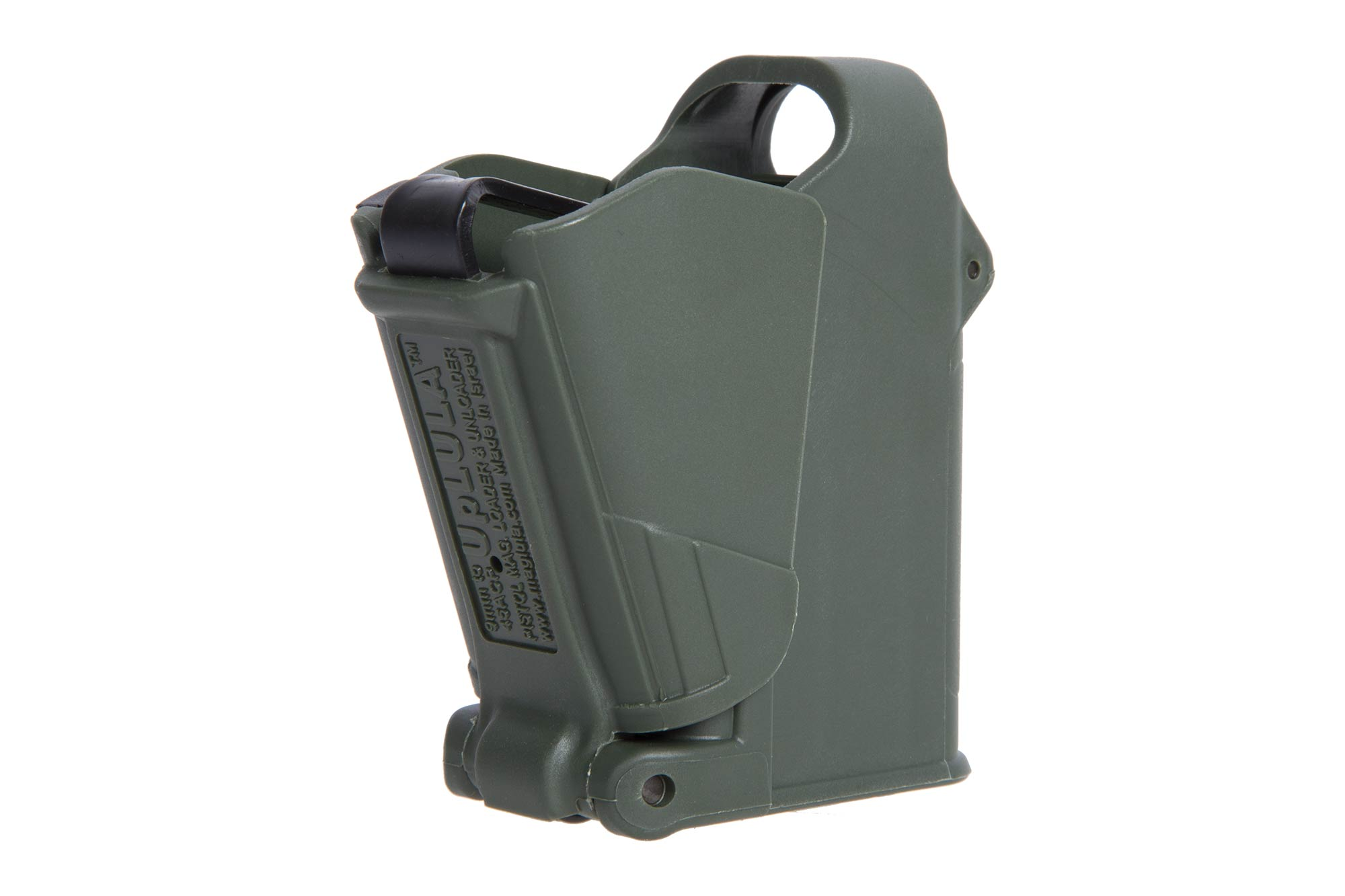 The Maglula UpLULA magazine loader is universal and compatible with 9mm up to .45 ACP