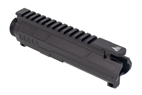 Odin Works 9mm AR15 upper receiver features a flat top picatinny rail