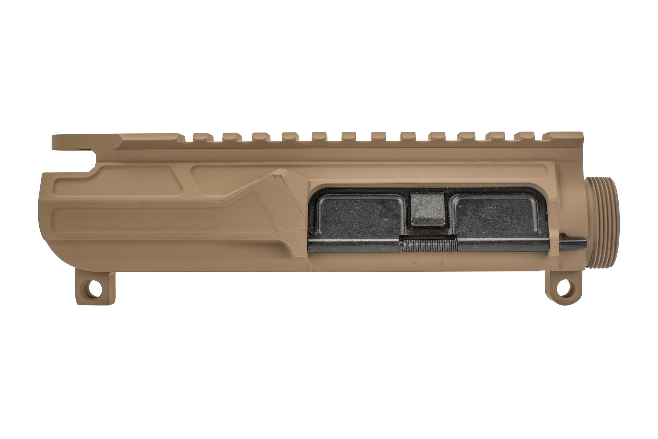Odin Works Billet Upper Receiver FDE features a slick side design