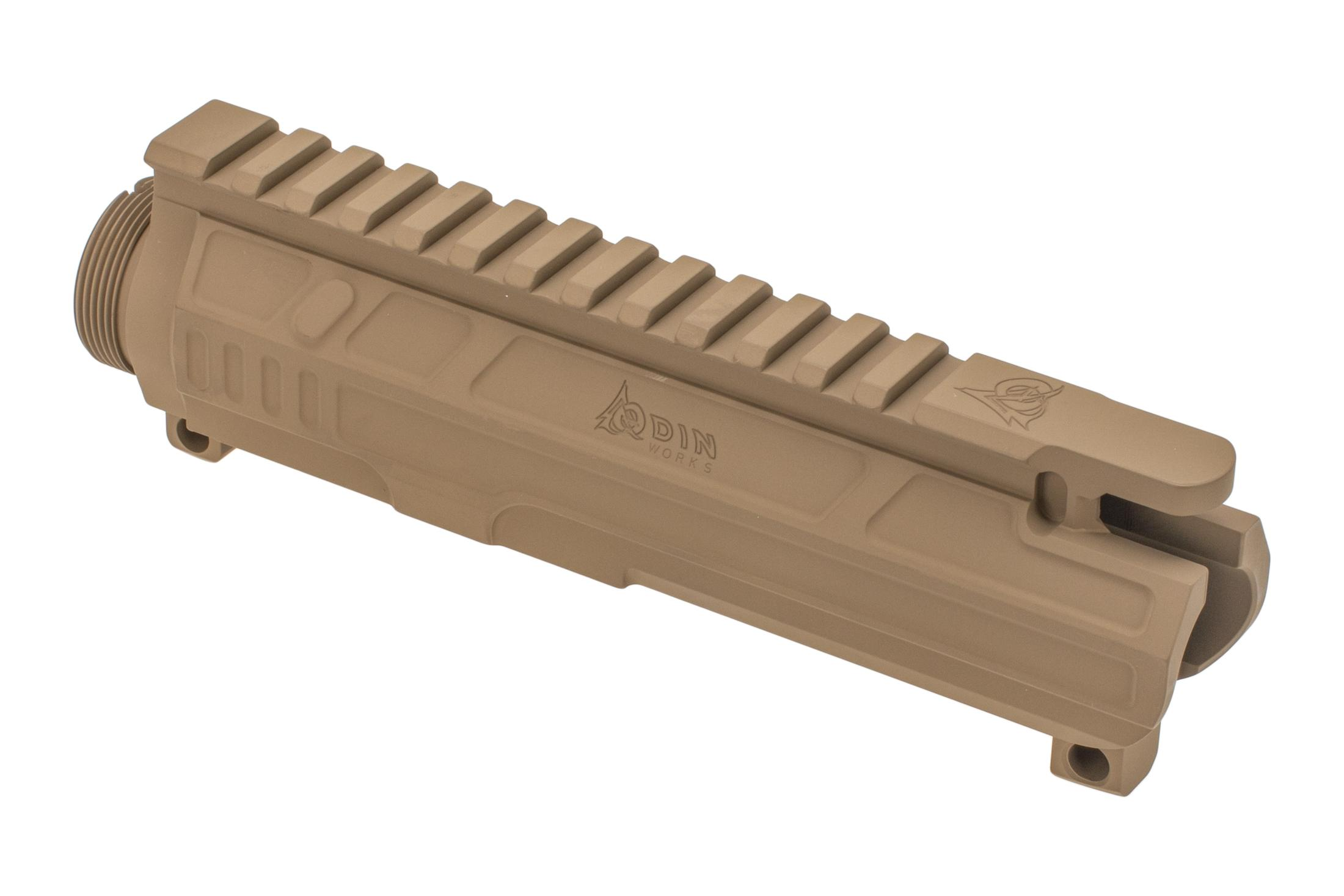 Odin Works AR15 stripped upper receiver features a milled lightweight design