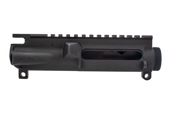 Xtreme Tactical Sports stripped AR15 upper receiver with black anodized finish