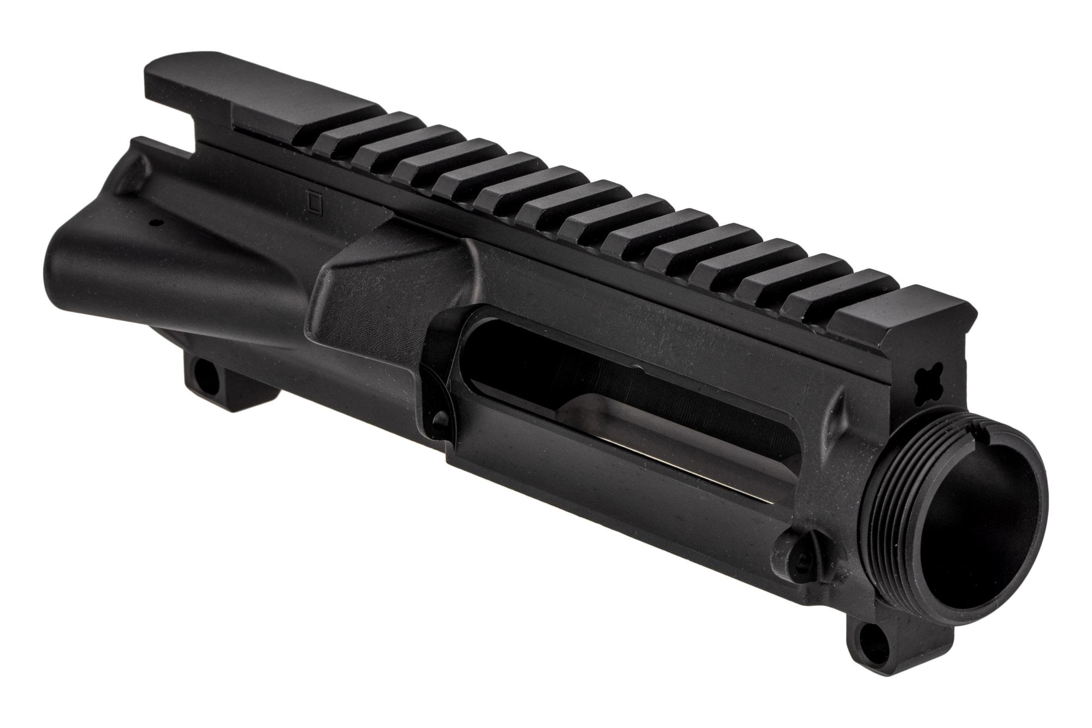 Bear Creek Arsenal stripped AR-15 upper receiver is compatible with MIL-SPEC components.