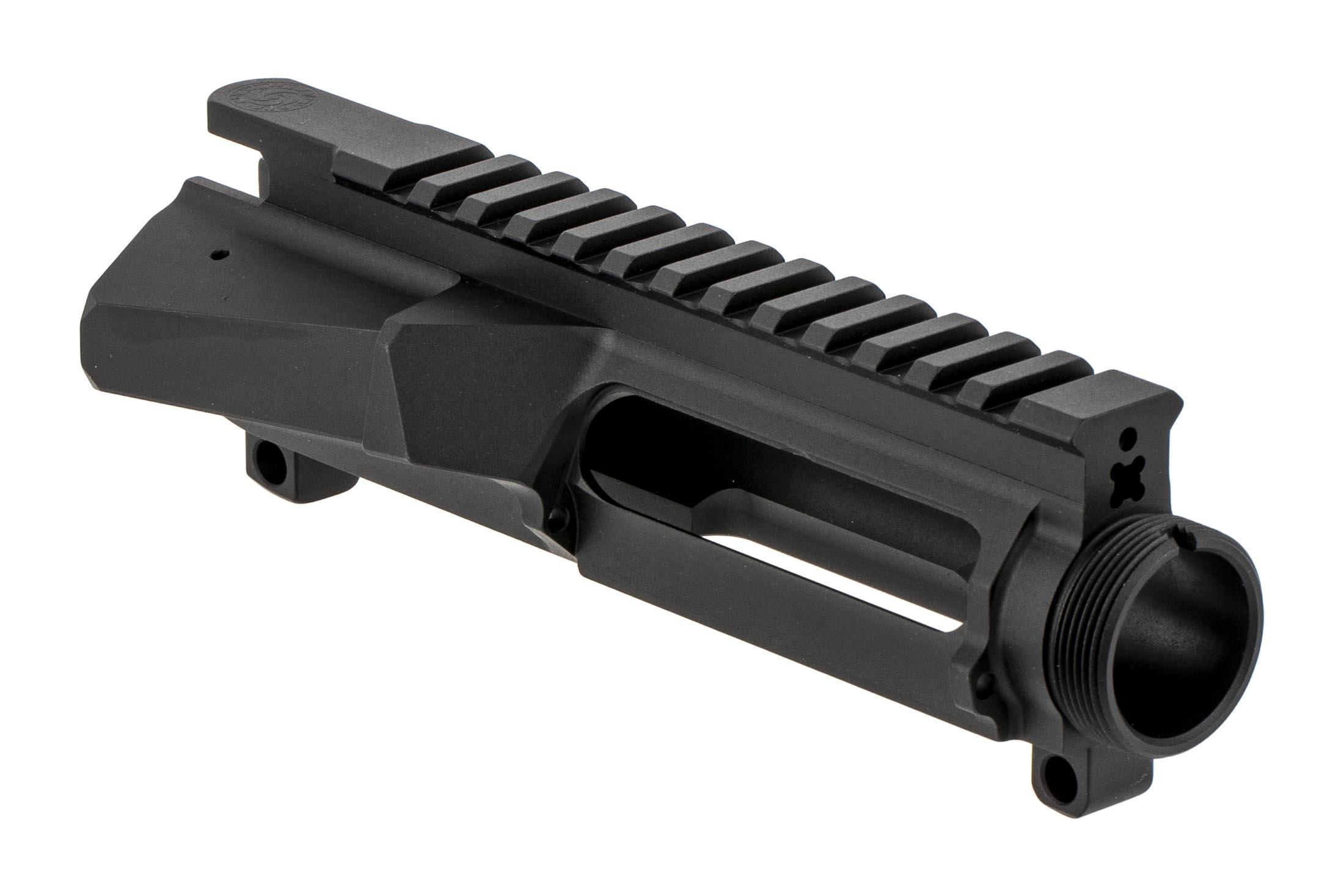 The Cross Machine Tool UPUR-1A Stripped AR15 upper receiver features an enlarged ejection port for .458 SOCOM