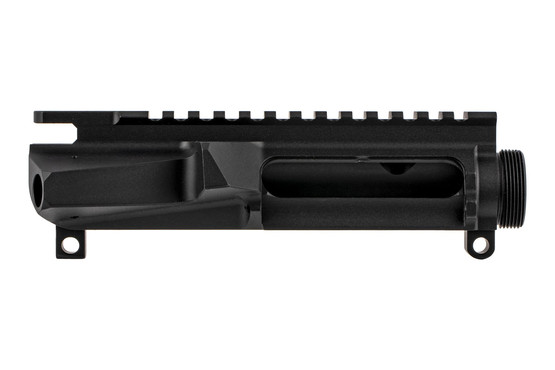The Cross Machine tool AR15 stripped upper receiver is billet machined from 7075 aluminum