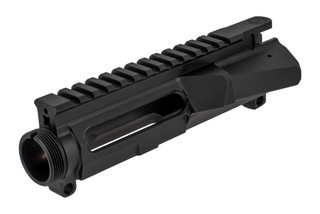 The Cross Machine Tool UPUR-1LH is a left handed upper receiver machined from 7075-T6 aluminum billet