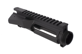 Cross Machine Tool Ultra Precision stripped billet AR-15 upper recever fits standard MIL-SPEC forward assist and port door.