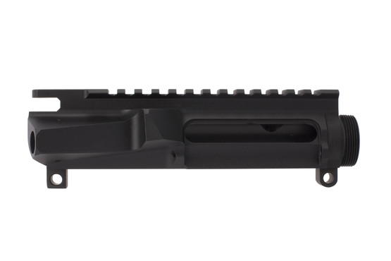 Cross Machine Tool stripped billet ULTRA PRECISION AR-15 upper receiver is machined from high strength 7075-T6 aluminum