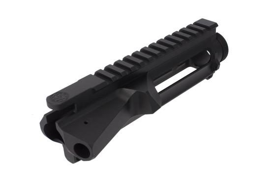 CMT's stripped billet AR-15 upper receiver is ultra precision machined and features M4 feed ramps.
