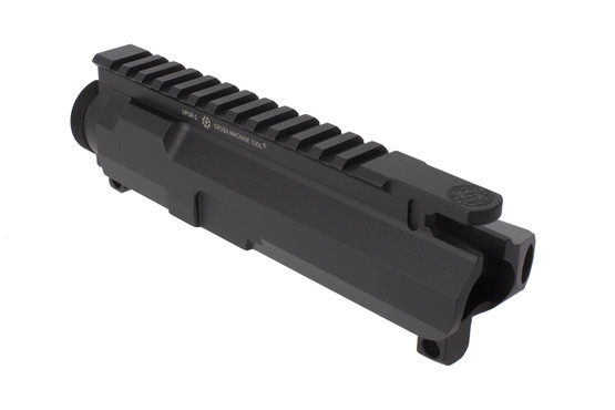 CMT Ultra Precision stripped AR-15 upper receiver is cut from billet aluminum with thicker walls for enhanced strength