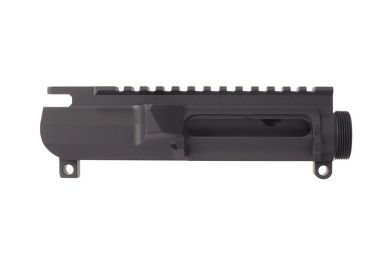 Cross Machine Tool's stripped billet AR-15 upper has a slick side design that deletes the forward assist