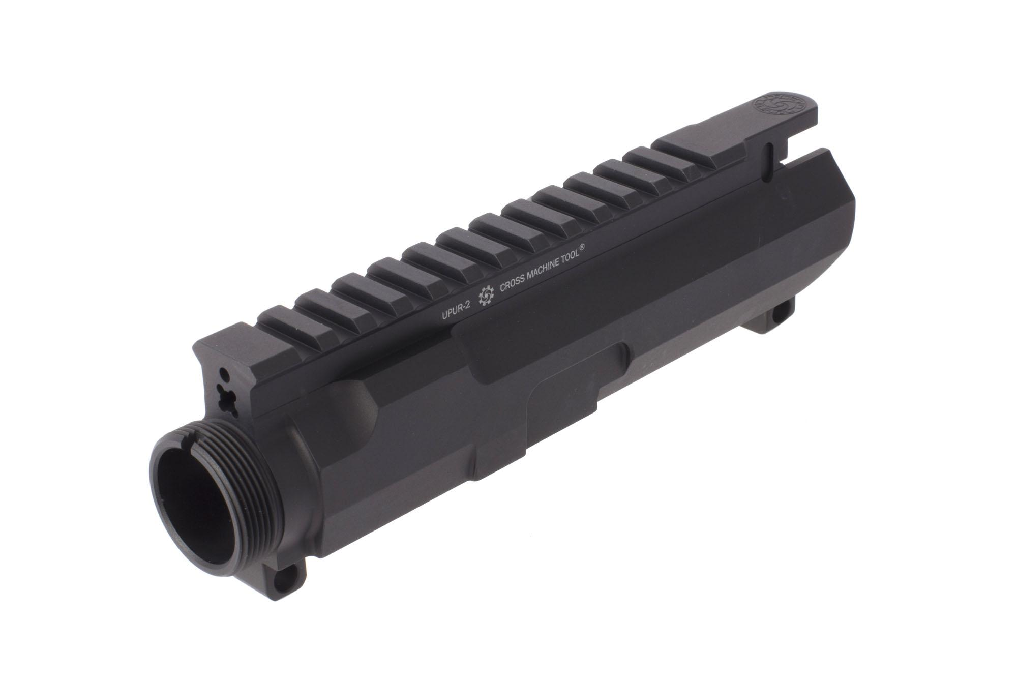 Cross Machine Tool's Ultra Precision stripped billet AR-15 upper receiver is compatible with most free float handguards