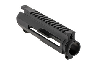 The Cross Machine Tool UPUR-3A side charging upper receiver is machined from 7075-T6 aluminum