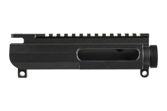 The CMT UPUR3 slick side AR15 upper receiver is machined from a billet of 7075-T6 aluminum