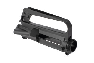 Luth-AR stripped A1 / C7 upper receiver for the AR-15 features an integral carry handle just like the M16A1 or Colt C7
