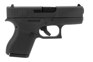Glock 43 9mm sub compact pistol in black