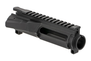 Forward Controls Design URF upper receiver with scalloped forward assist housing for ambi charging handle clearance.