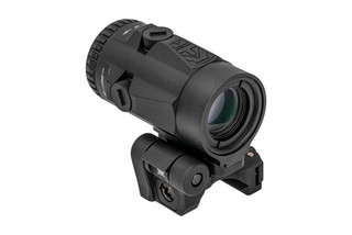 Vortex Optics Micro 3X Magnifier is equipped with a flip-to-side quick detach mount and protected azimuth adjustments.