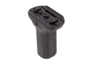 NcSTAR VISM KPM Short Vertical Grip has grip texture for increased control and maneuverability