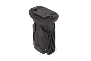 NcSTAR VISM KPM Short Quick Release Vertical Grip is made from an injected, molded polymer with steel KEYMOD hardware