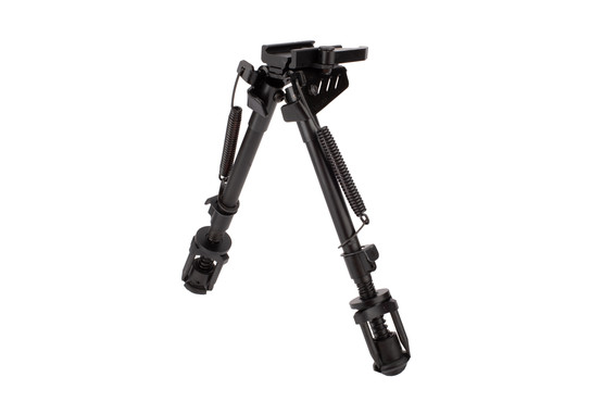 NcSTAR VISM KPM 8.5in to 11in Bipod has spring loaded notched bipod legs