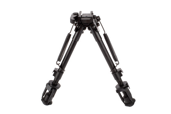 NcSTAR VISM KPM 8.5in to 11in Bipod is made from durable aluminum and steel construction