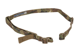 Blue Force Gear Vickers 2-Point combat sling with acetal hardware and MultiCam 1.25in sling