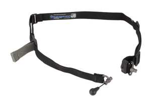 Blue Force Gear's black Vickers 221 1.25in sling easily converts from 2-point to 1-point and is equipped with RED Swivels